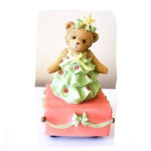 Cherished Teddies Christmas Tree Musical Figurine